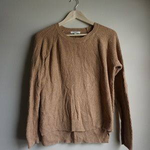Madewell Women's Tan Brown Sweater Cozy Size Small
